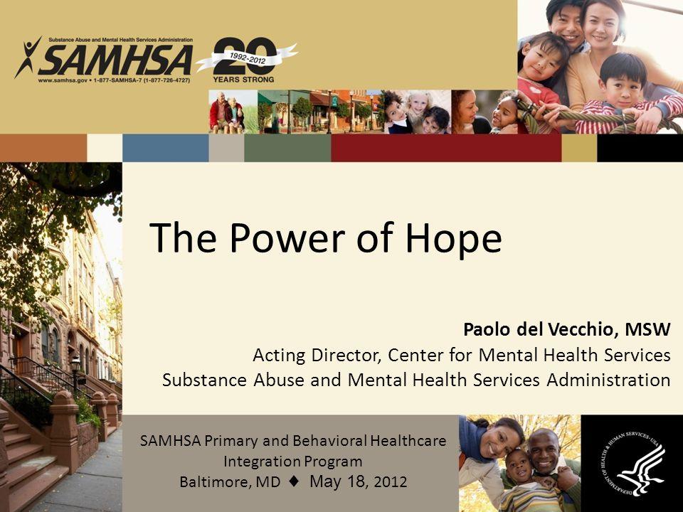 SAMHSA Primary and Behavioral Healthcare Integration Program