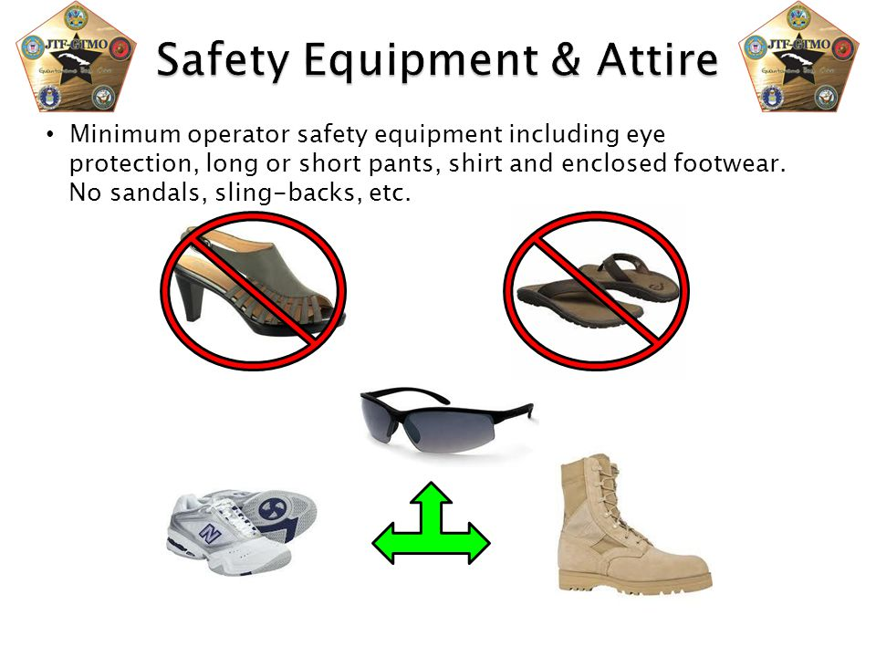 Safety Equipment & Attire