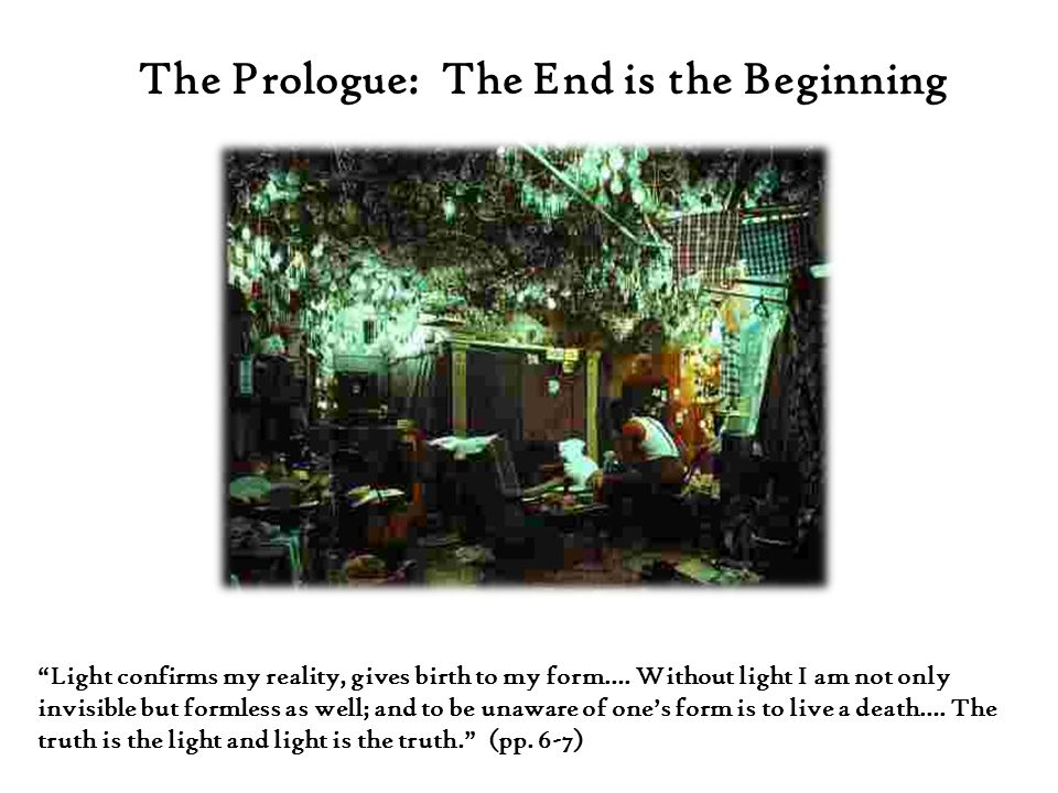 The Prologue: The End is the Beginning