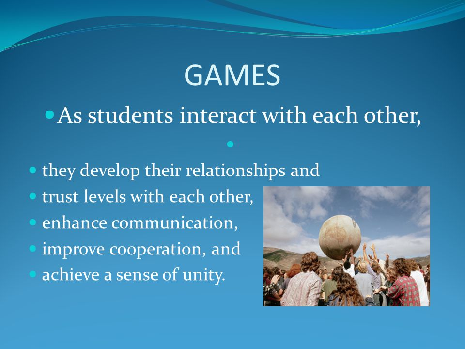 As students interact with each other,