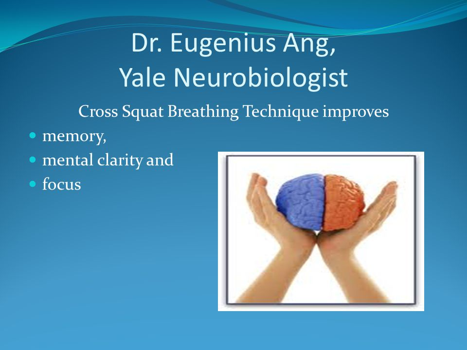 Dr. Eugenius Ang, Yale Neurobiologist