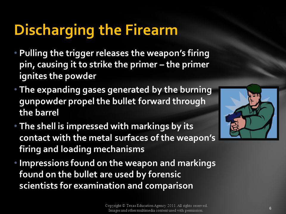 Discharging the Firearm
