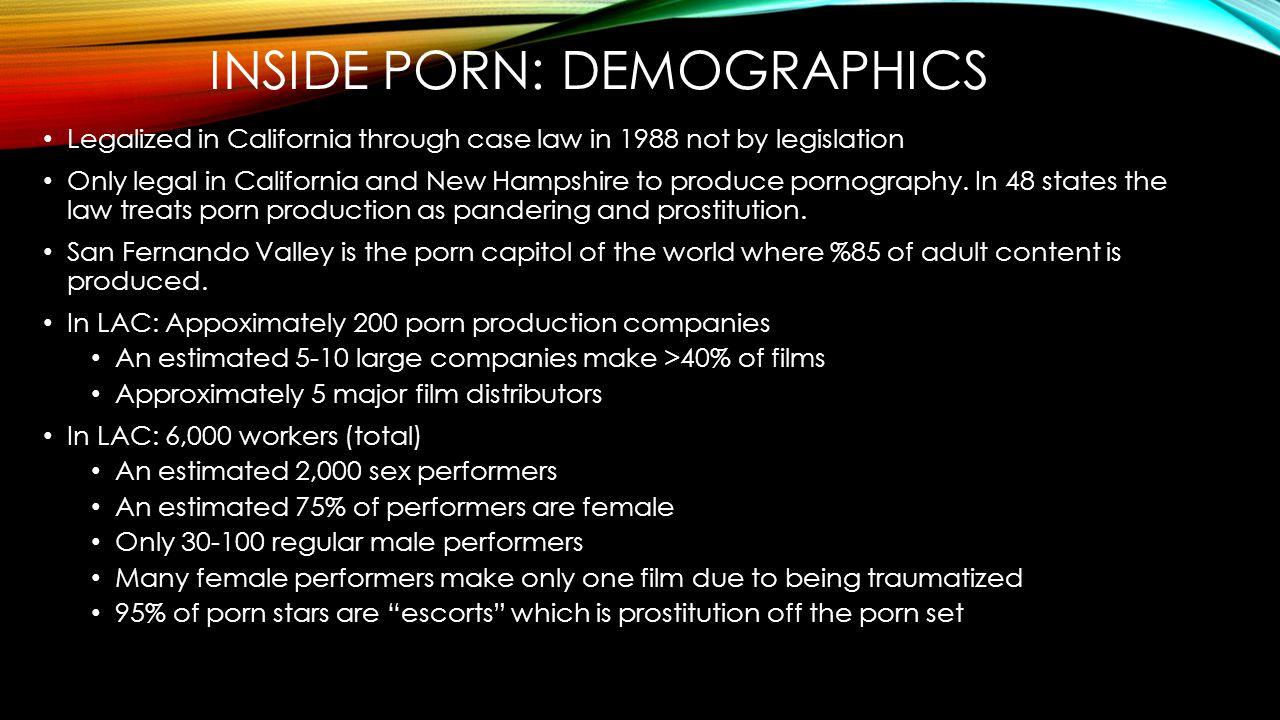 inside porn: demographics
