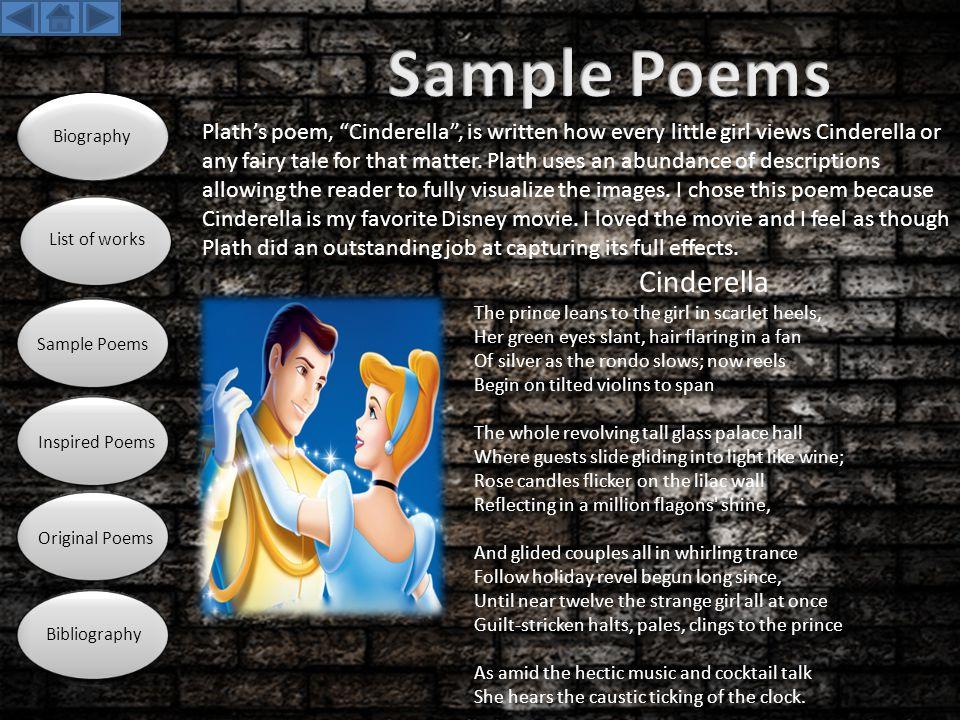 Sample Poems Cinderella