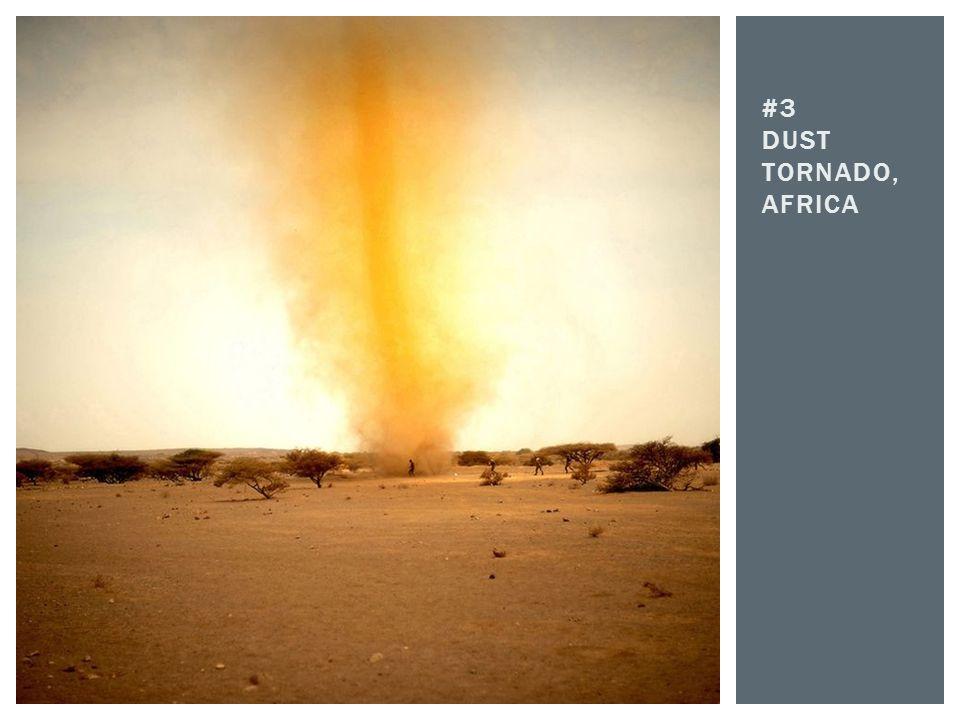 #3 Dust Tornado, Africa