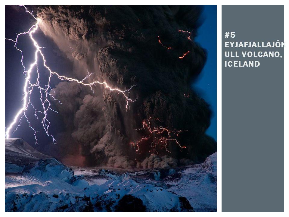 #5 Eyjafjallajökull Volcano, Iceland