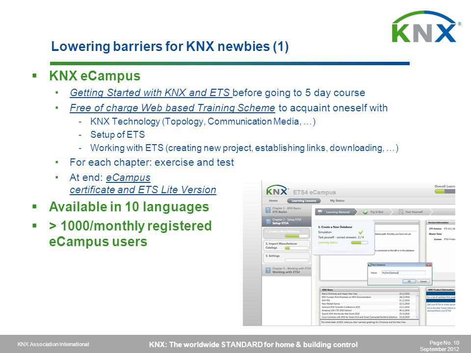 Lowering barriers for KNX newbies (1)