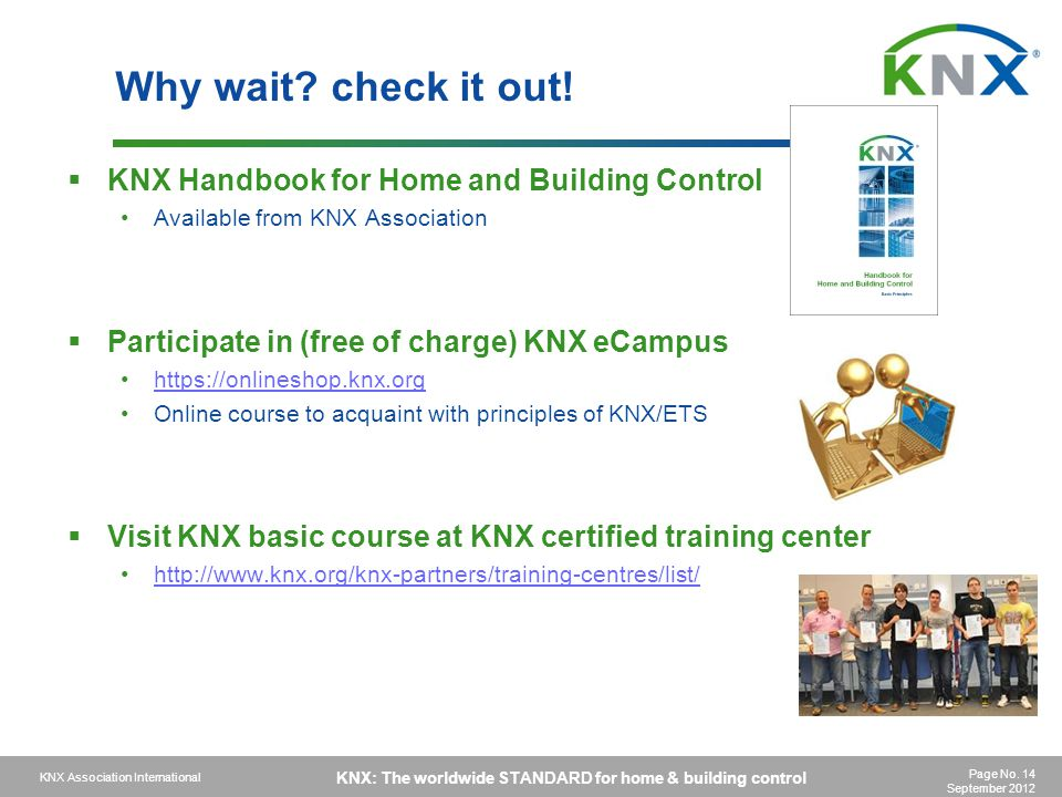Why wait check it out! KNX Handbook for Home and Building Control