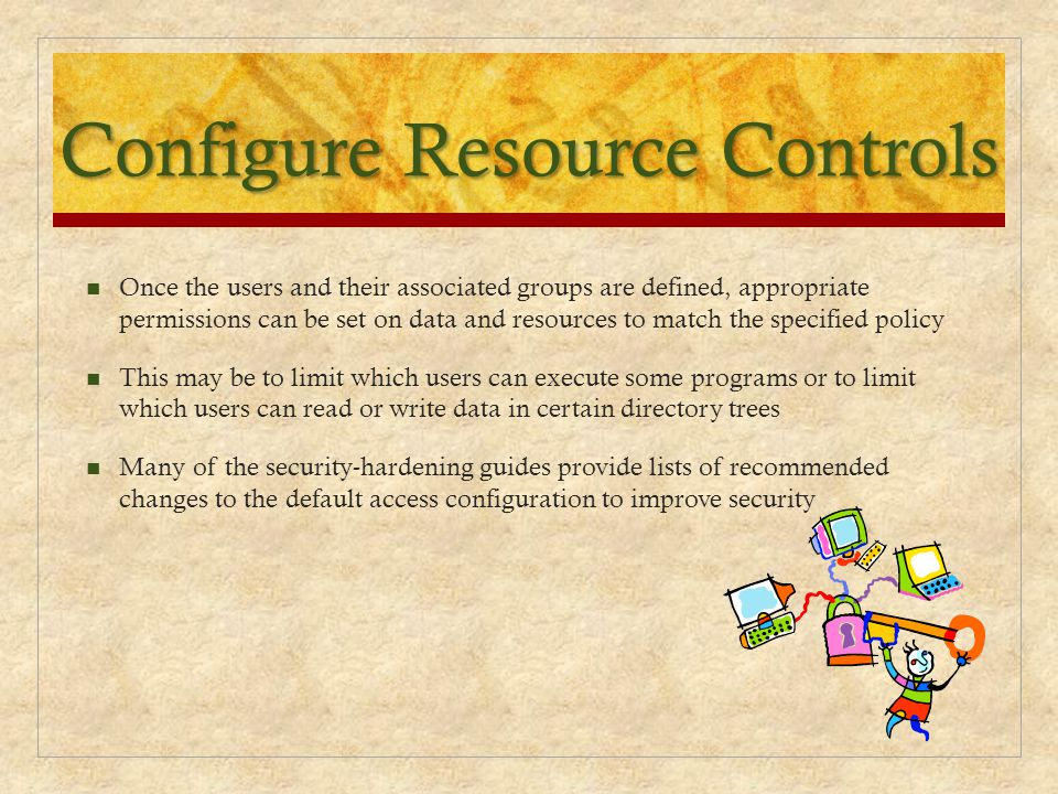 Configure Resource Controls