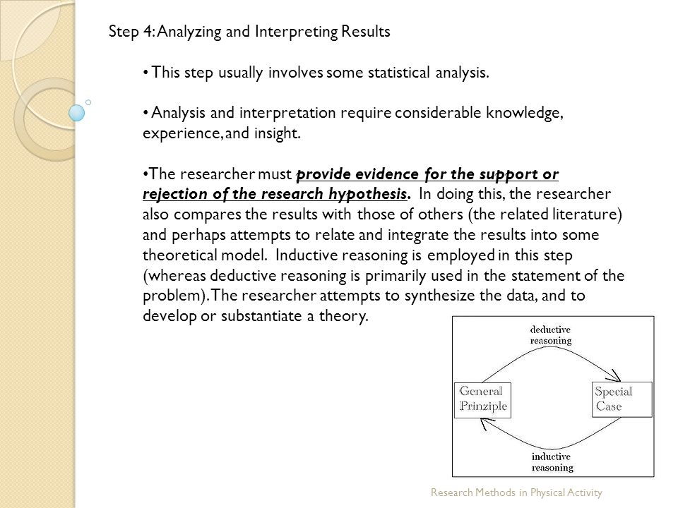 Step 4: Analyzing and Interpreting Results