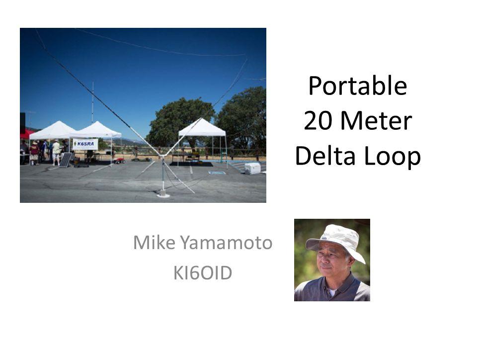 Portable 20 Meter Delta Loop