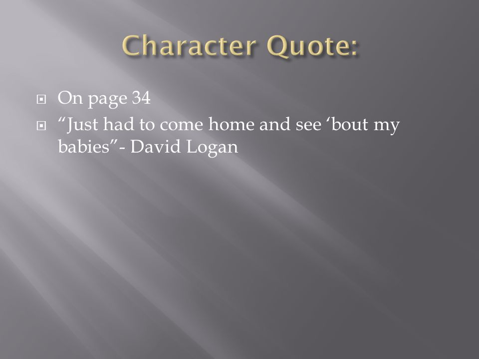 Character Quote: On page 34