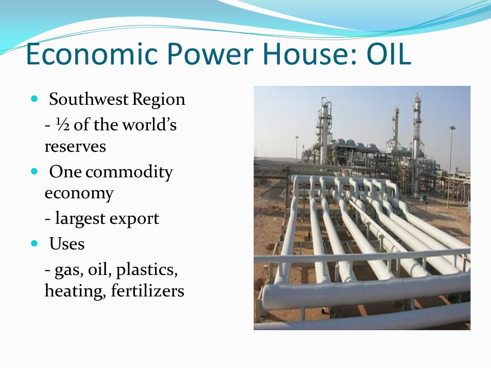 Economic Power House: OIL