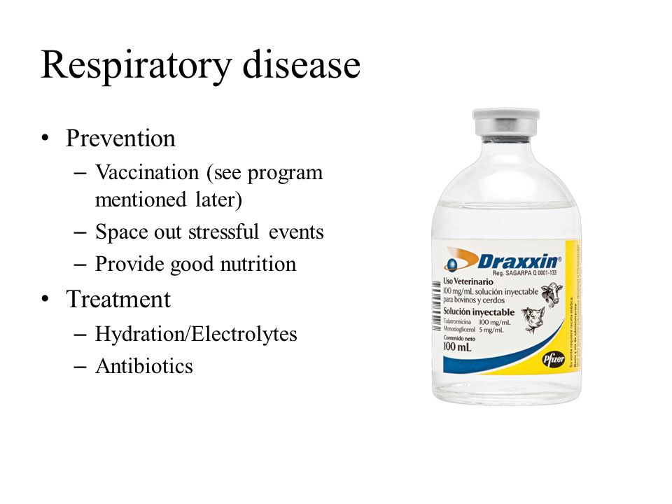 Respiratory disease Prevention Treatment