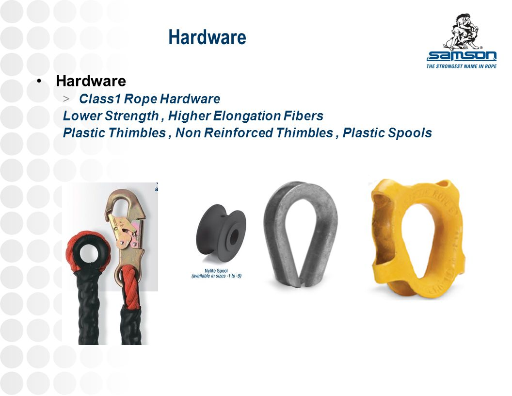 Hardware Hardware Class1 Rope Hardware