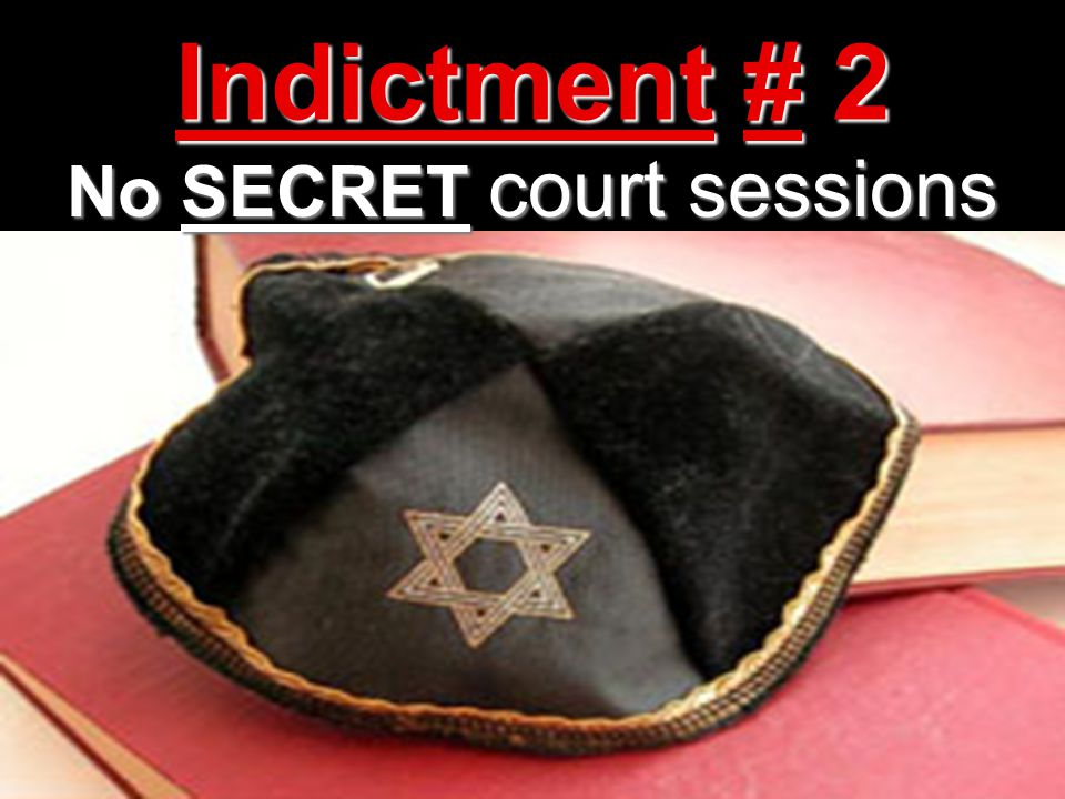 No SECRET court sessions
