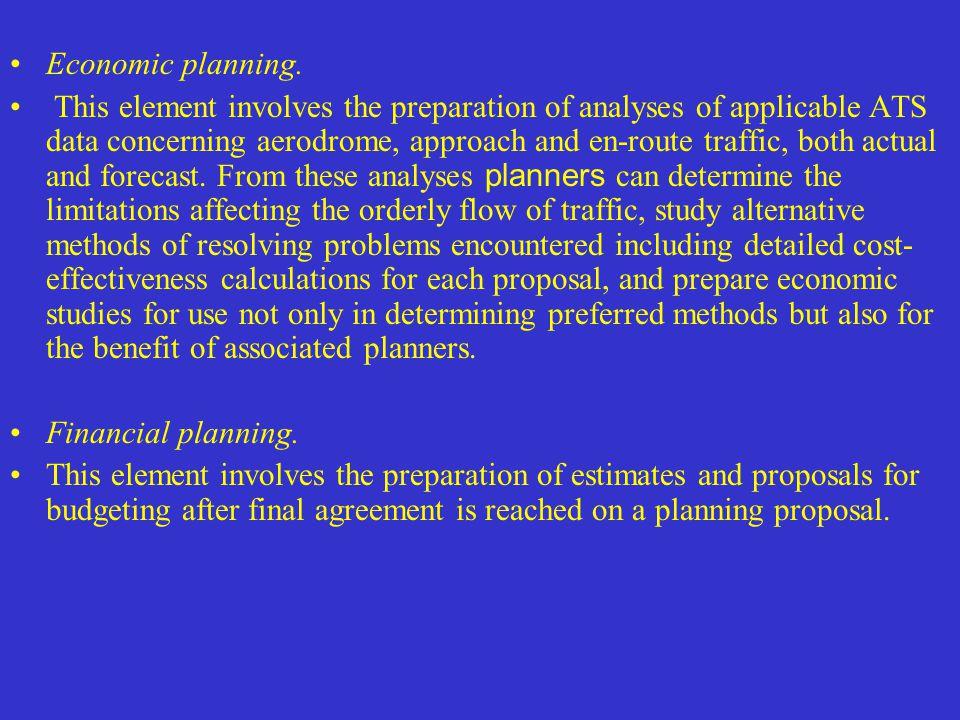 Economic planning.