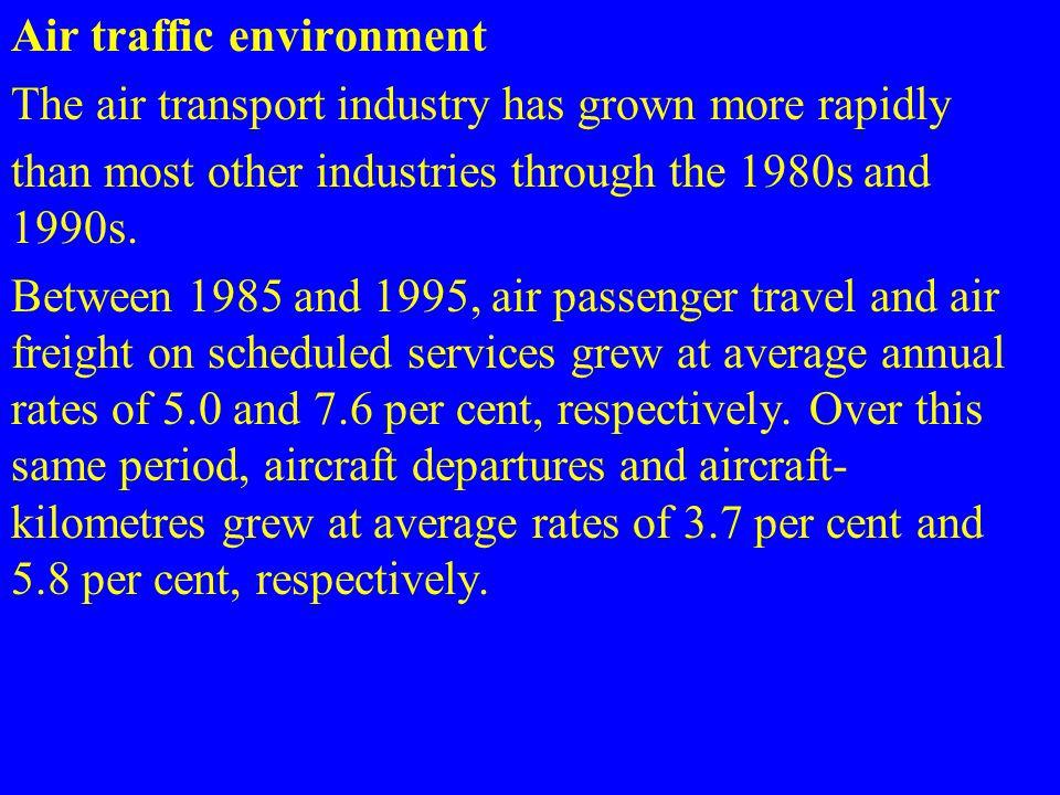 Air traffic environment
