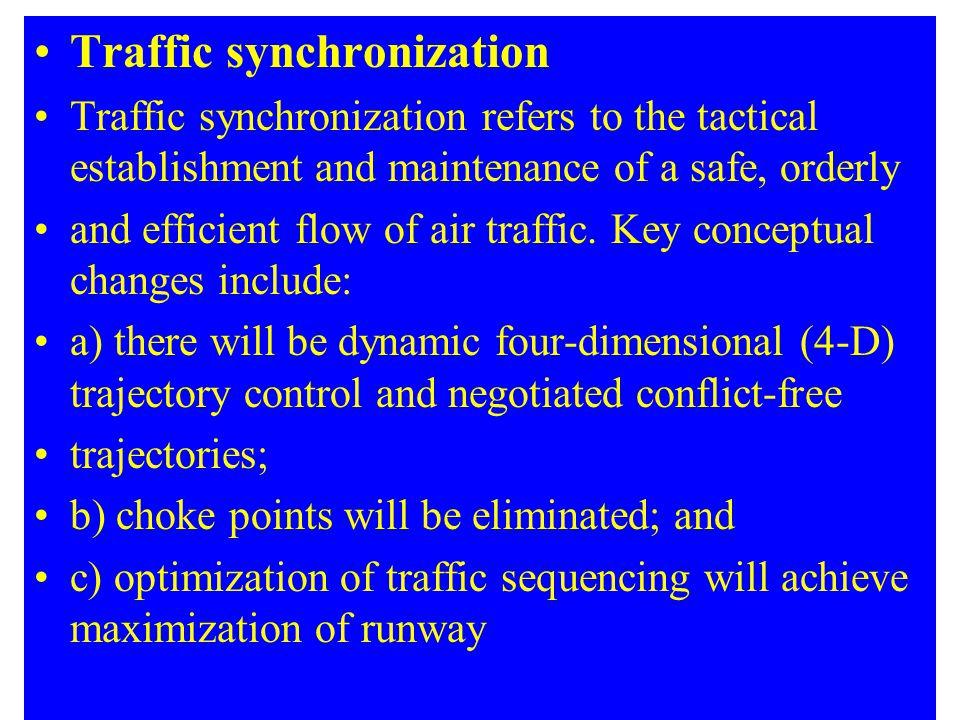 Traffic synchronization