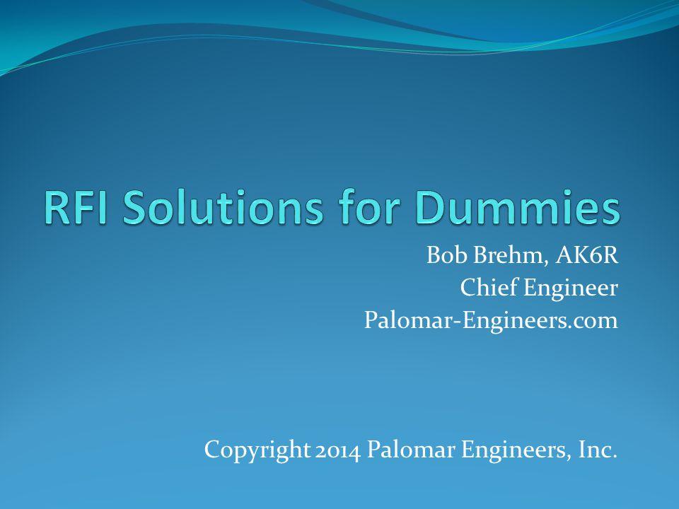 RFI Solutions for Dummies