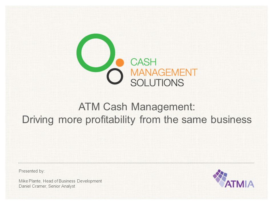 Driving more profitability from the same business