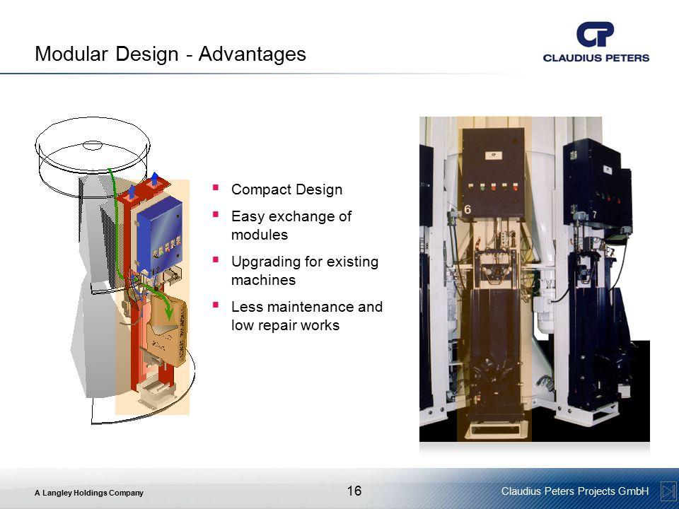 Modular Design - Advantages