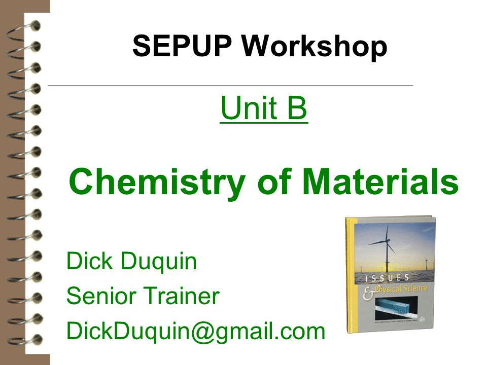 Chemistry of Materials