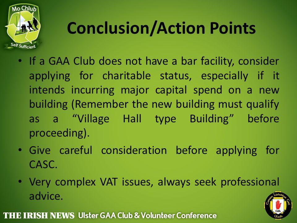 Conclusion/Action Points