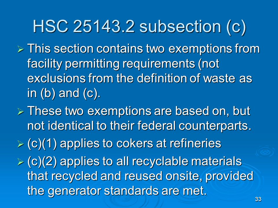 HSC 25143.2 subsection (c)