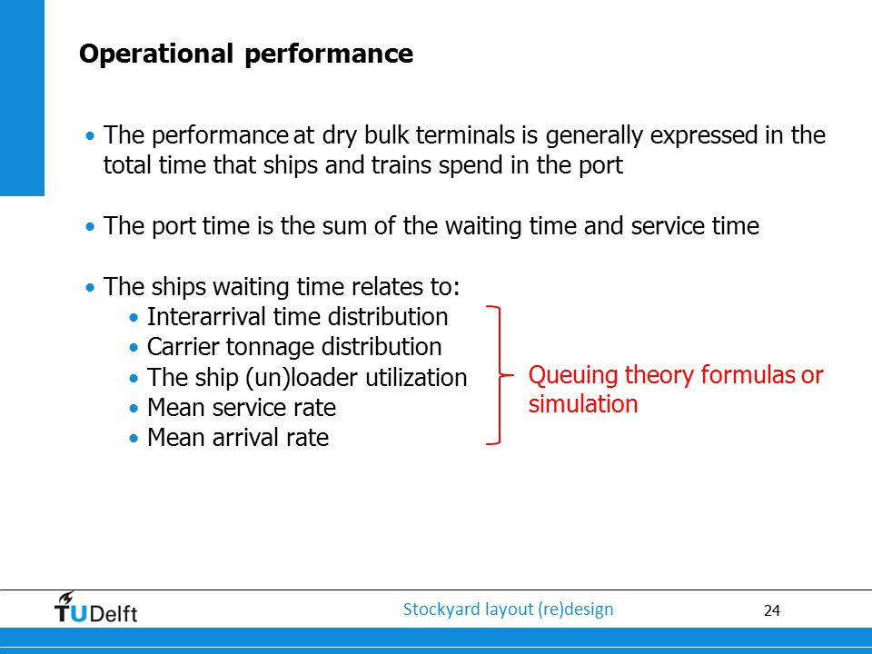 Operational performance