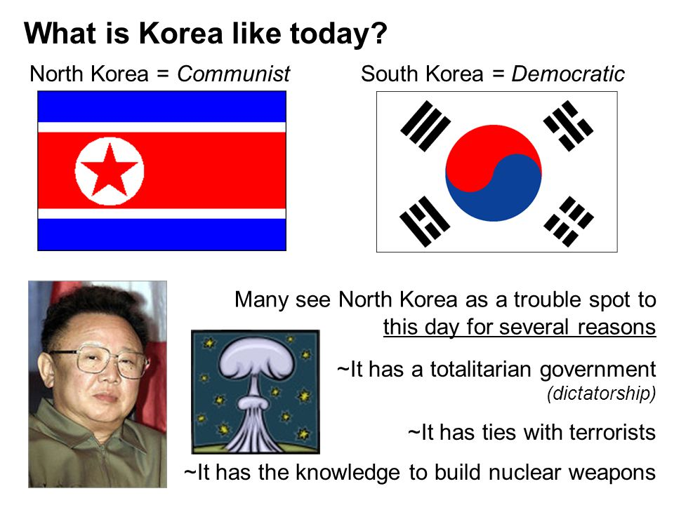What is Korea like today