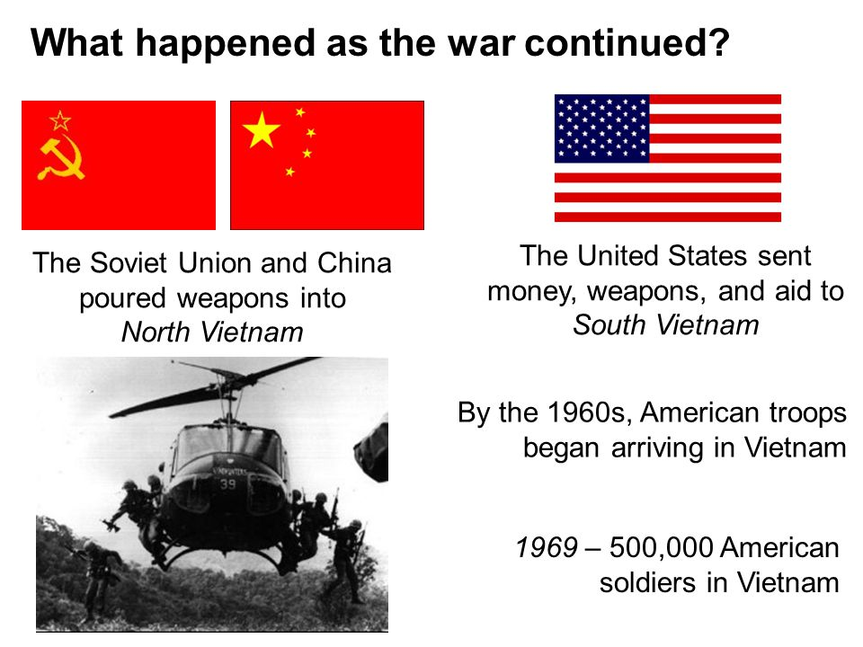 What happened as the war continued