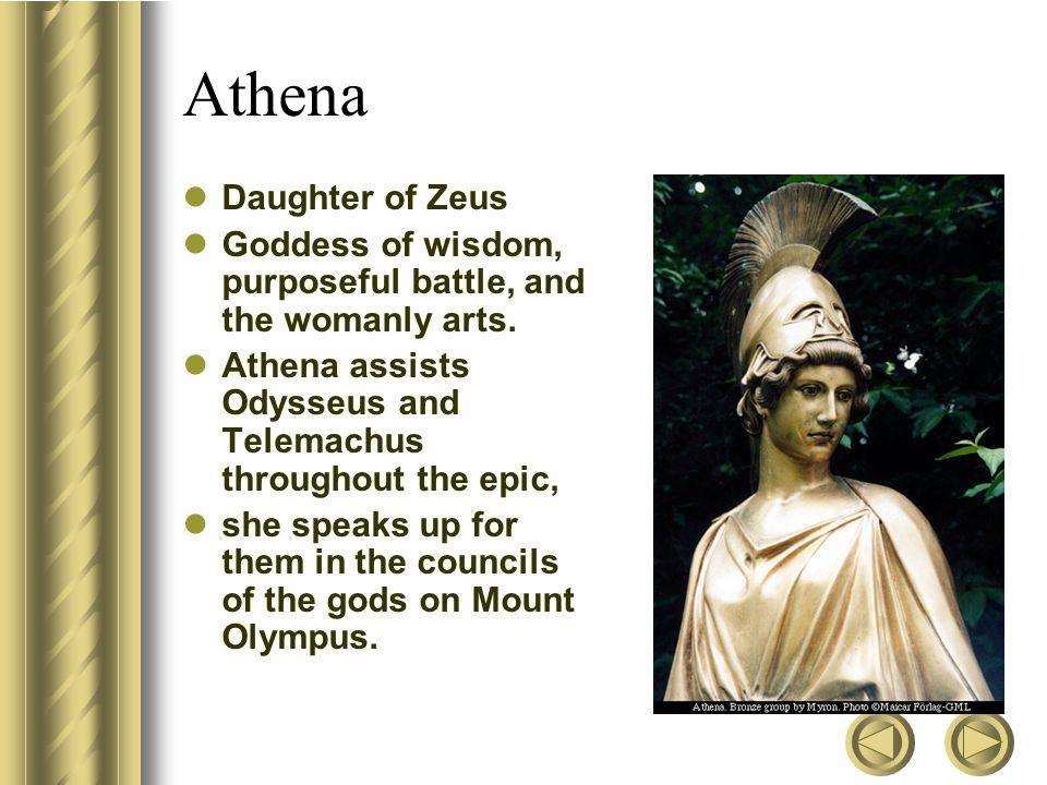 Athena Daughter of Zeus