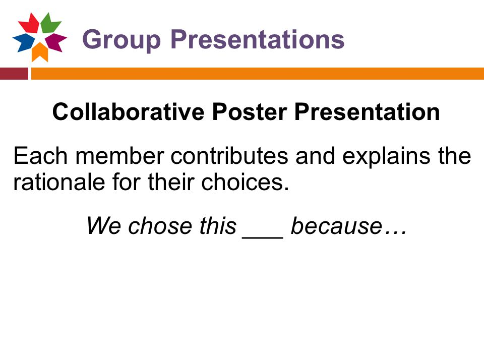 Collaborative Poster Presentation
