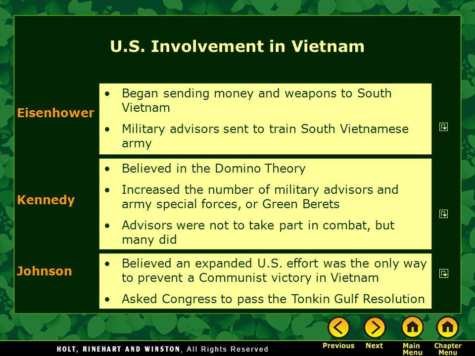 U.S. Involvement in Vietnam