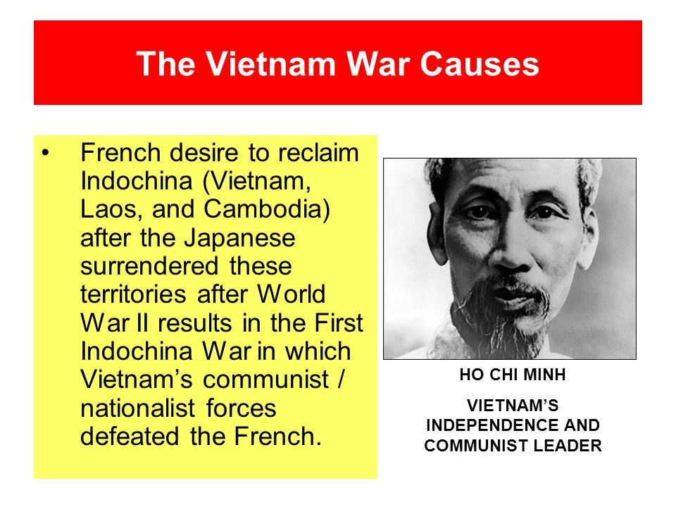 VIETNAM'S INDEPENDENCE AND COMMUNIST LEADER
