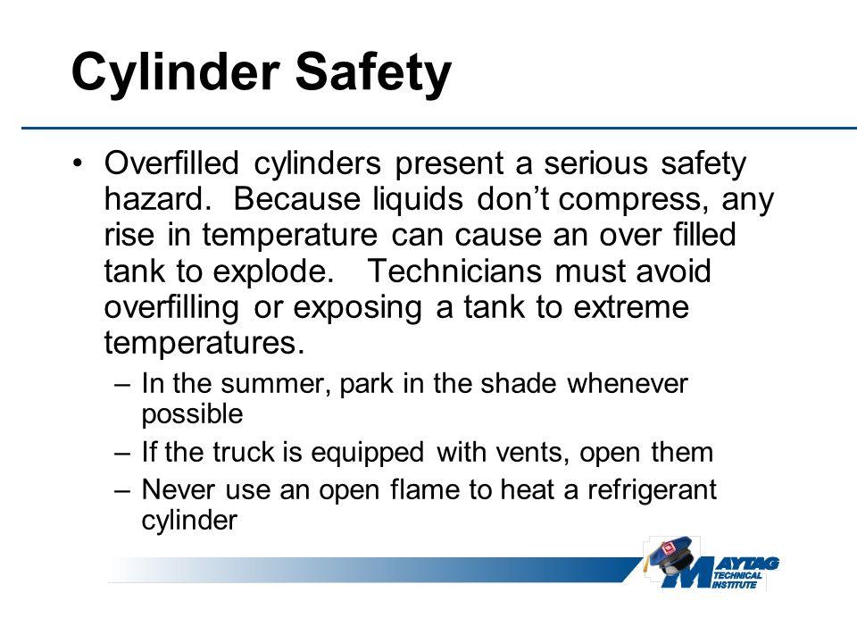 Cylinder Safety