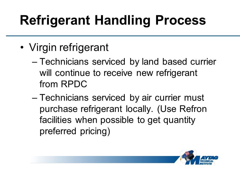 Refrigerant Handling Process