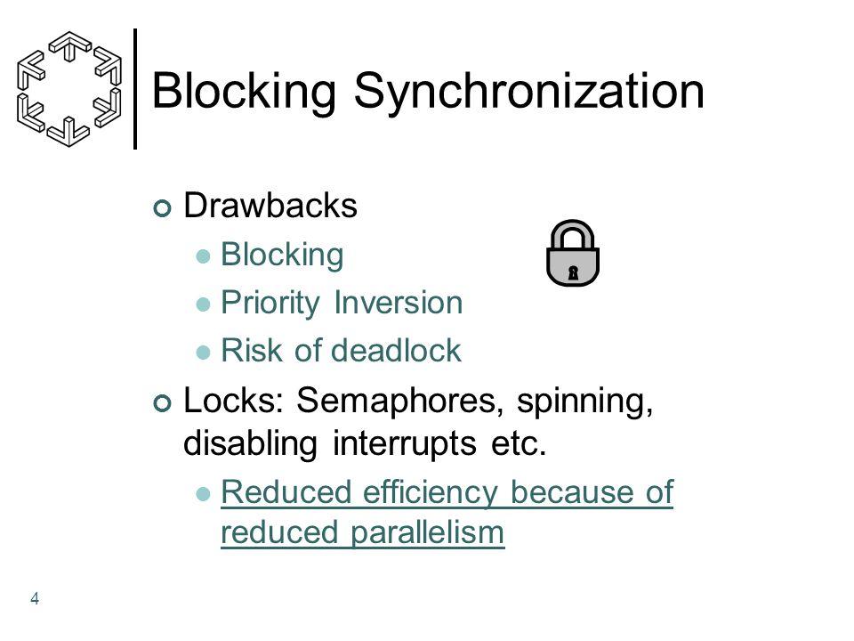 Blocking Synchronization