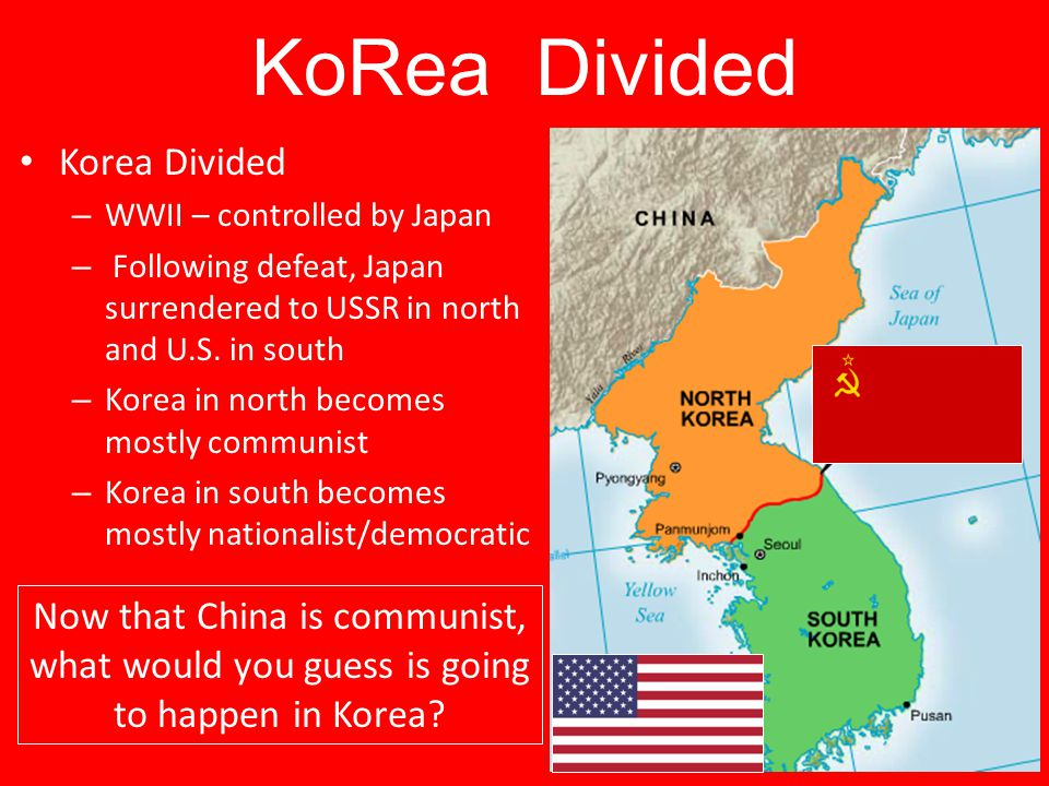 KoRea Divided Korea Divided