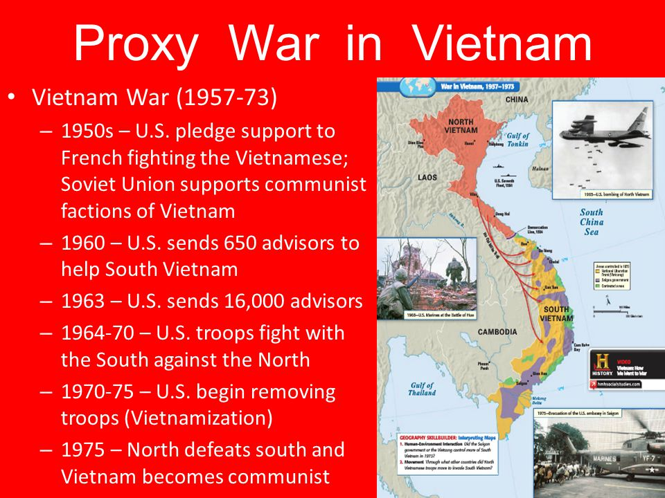 Proxy War in Vietnam Vietnam War (1957-73)