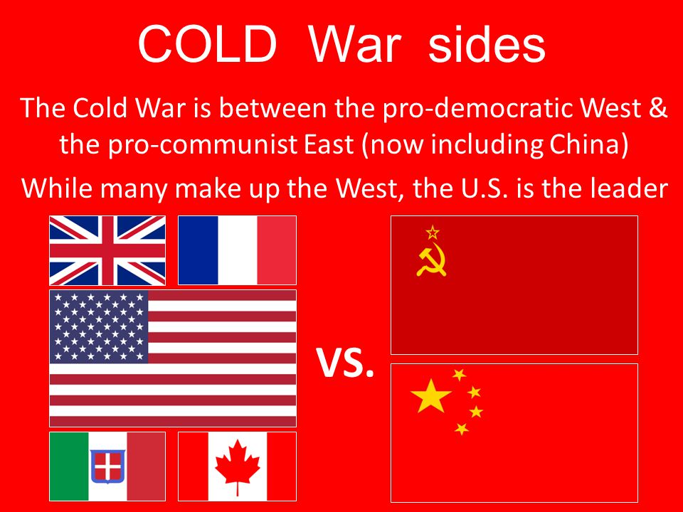 COLD War sides
