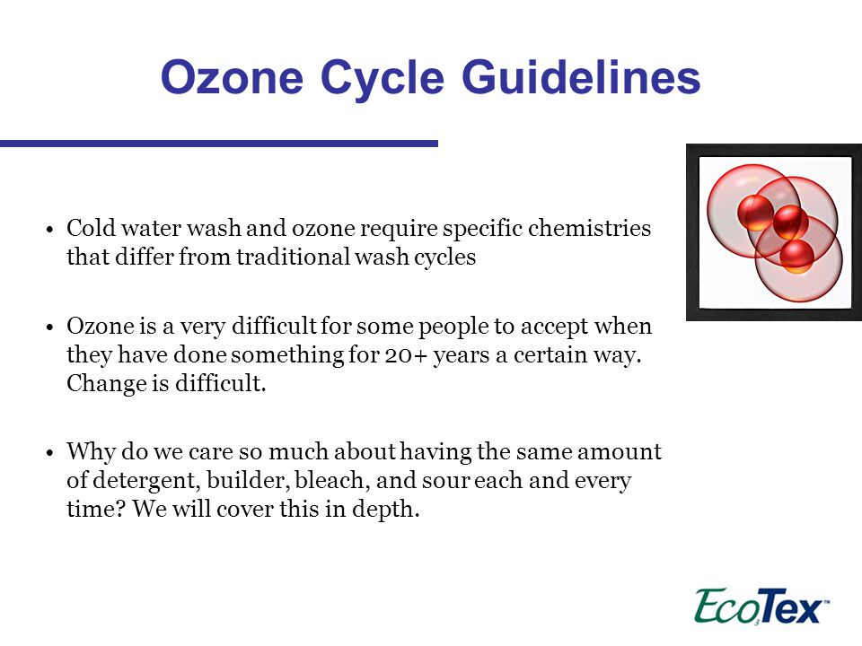 Ozone Cycle Guidelines