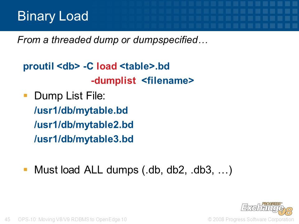 From a threaded dump or dumpspecified…