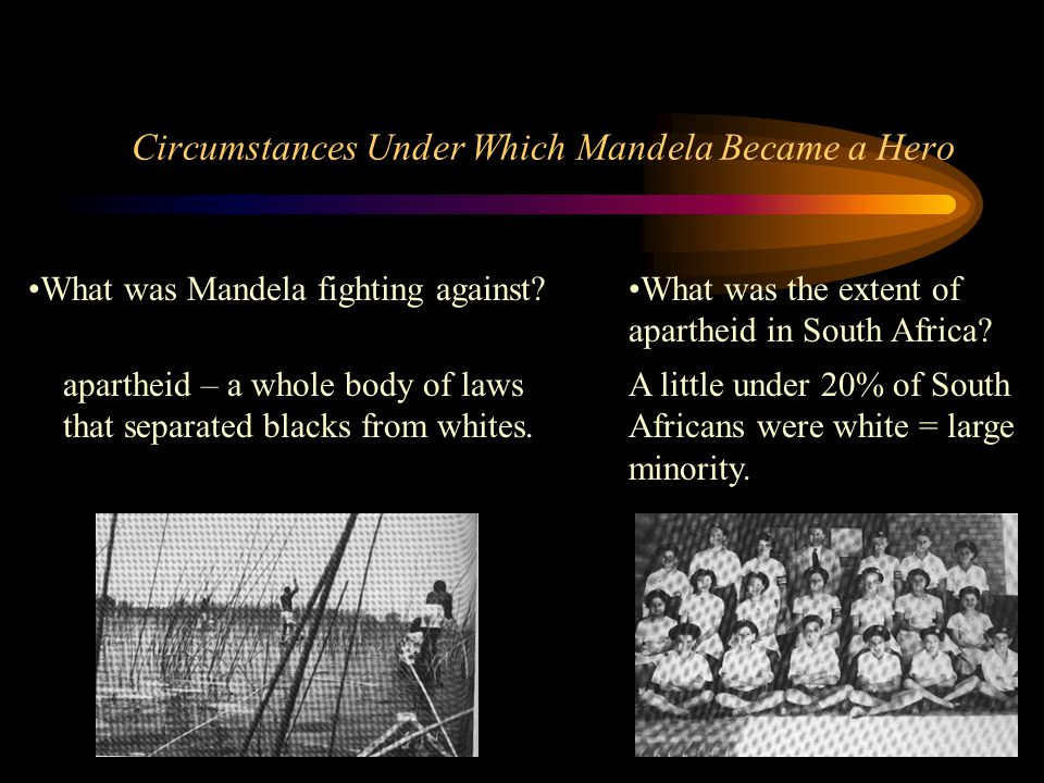 Circumstances Under Which Mandela Became a Hero