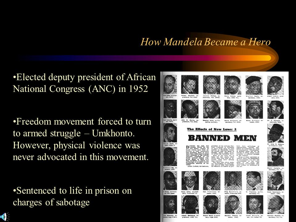 How Mandela Became a Hero