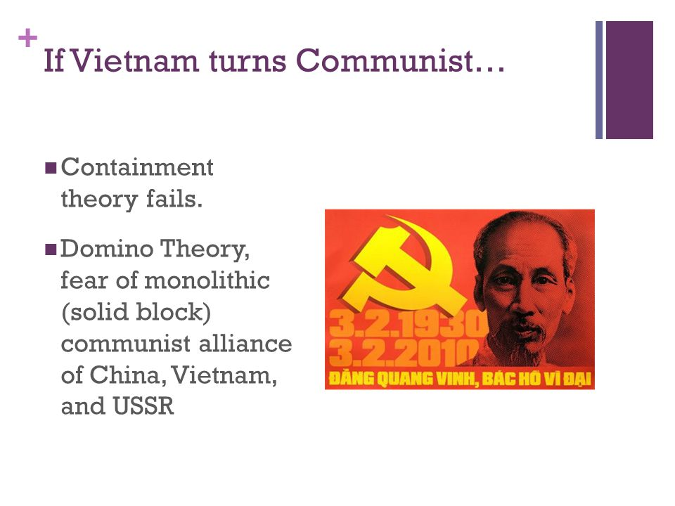 If Vietnam turns Communist…