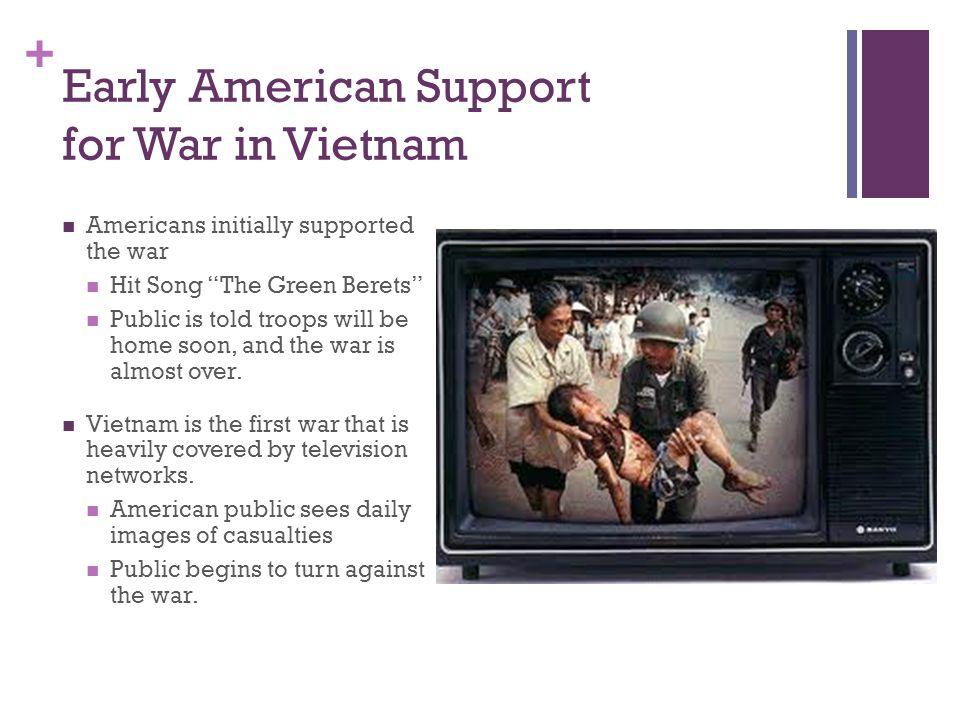 Early American Support for War in Vietnam