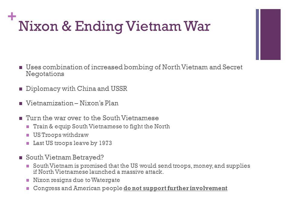 Nixon & Ending Vietnam War