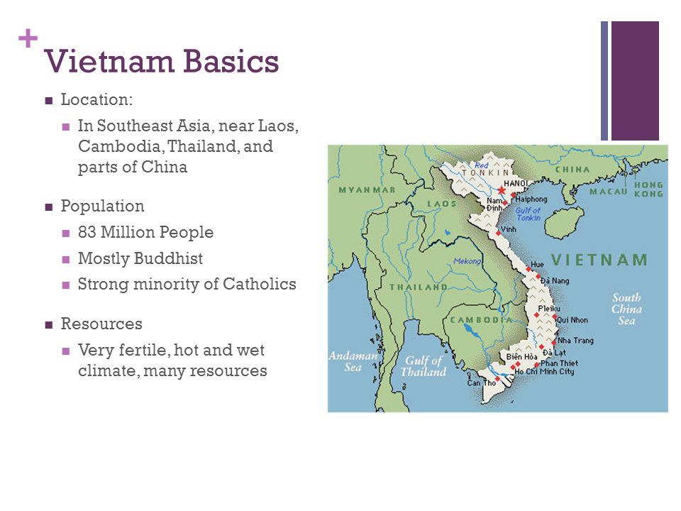 Vietnam Basics Location: